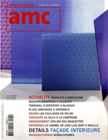 AMC / Mai 2010 - Atelier Boudry