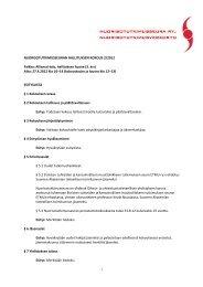 Hallituksen kokouksen 27.4. esityslista - Nuorisotutkimusseura