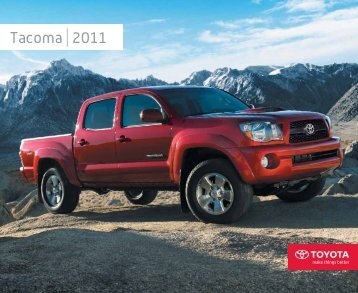 Tacoma 2011 - Toyota Canada