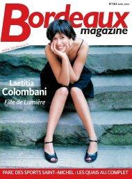Bordeaux magazine - No 363 Avril 2009