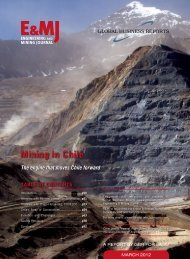 Chile Mining 2012 - Global Business Reports