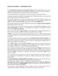 Incentivos Econômicos - Aquecimento Global - Outorga.com.br