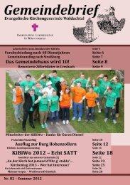 KiBiWo 2012 - Evangelische Kirchengemeinde Waldachtal