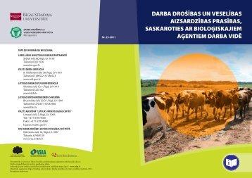 Biologiskie riski - Eiropas darba drošības un veselības aizsardzības ...