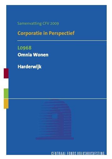 L0968 Corporatie In Perspectief Samenvatting 2009