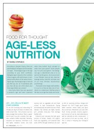 AGE-LESS NUTRITION - Whole Image Nutrition
