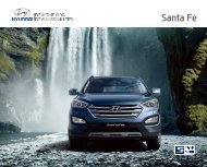 E-Prospekt Hyundai Santa Fe - Stadt-Garage Rimini AG