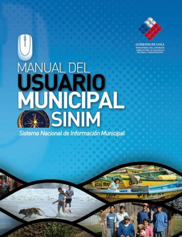 Capítulo 1 - Sistema Nacional de Información Municipal