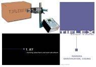 marking identification, coding t. jet - Tiflex