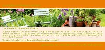 Nachbarschaftsgarten - menschenskinder-berlin gGmbH