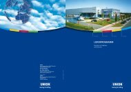 LIEFERPROGRAMM - UNION Werkzeugmaschinen GmbH Chemnitz