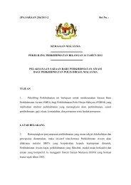 pekeliling perkhidmatan bilangan 14 tahun 2011 - Kementerian ...