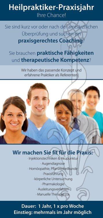 Heilpraktiker-Praxisjahr - Fachverband Deutscher Heilpraktiker