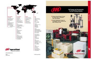Ink Pumps and Accessories for the Printing Industry - Amet