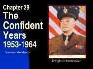 Chap 28 Confident Years 1953-64