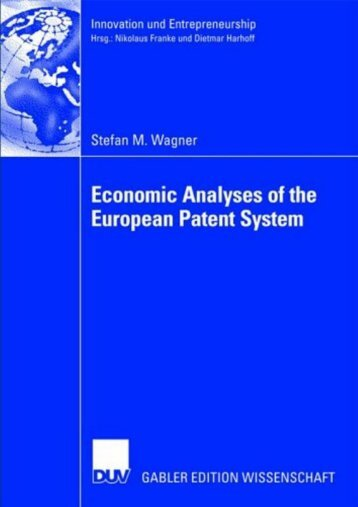 Economic Analyses of the European Patent System.pdf