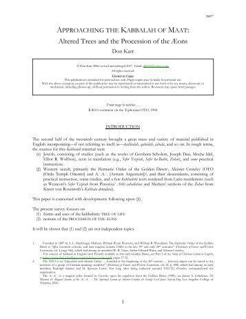 TAROT PDF CASE FOSTER PAUL