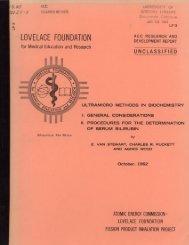 LOVELACE FOUNDATION