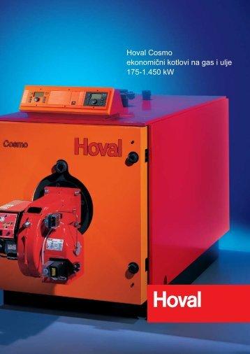 Hoval Cosmo ekonomični kotlovi na gas i ulje 175-1.450 kW