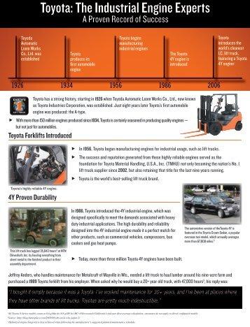 Toyota Material Handling, U.S.A., Inc.