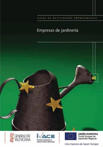 GUÍA DE EMPRESAS DE JARDINERÍA Página 0 - EmprenemJunts