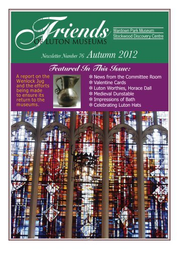 Autumn Newsletter 76 September 2012 Web Colour.indd