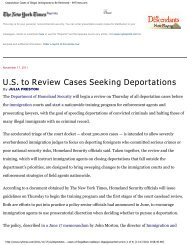 Deportation Cases of Illegal Immigrants to Be Reviewed - Teamsters ...