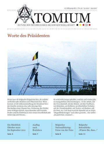 Ein Rückblick - Österreichisch-Belgische Gesellschaft