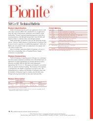 MelCor II® Technical Bulletin - Panolam