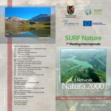 Natura2000 - SURF-nature