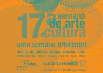 Pró-Reitoria de Cultura e Extensão Universitária - PREAC