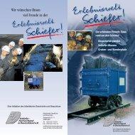 Erlebniswelt - Schiefer - Fachverband in Deutschland eV