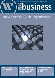 Innovationsorientierte Organisation - WING