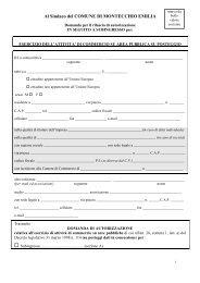 Richiesta subingresso autorizzazione amministrativa e concessione ...