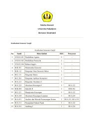 Jurusan Akuntansi - FE Unpad - Universitas Padjadjaran