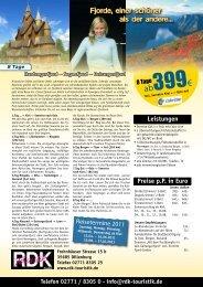 Leistungen - Reisemail24