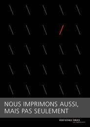 NOUS IMPRIMONS AUSSI, MAIS PAS SEULEMENT