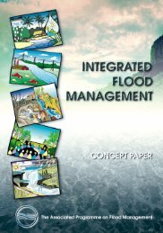Integrated Flood Management. Concept Paper - Cap-Net