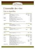 TVA 8% incluse dans les prix TVA 8% incluse dans ... - Café Romand - Page 2
