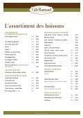 TVA 8% incluse dans les prix TVA 8% incluse dans ... - Café Romand - Page 4