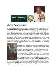 Martin A. Armstrong - Armstrong Economics