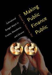 Public Finance Public Making