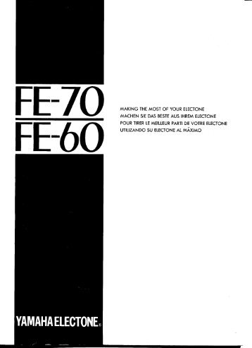 FE-70 - Yamaha