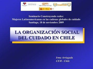 LA ORGANIZACIÓN SOCIAL DEL CUIDADO EN CHILE - Cem