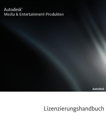 Lizenzierungshandbuch - Autodesk