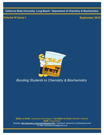 Volume 4, Issue 1 [September 2012 pdf] - California State University ...