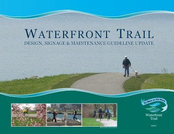 Table of Contents- Overview - Waterfront Trail
