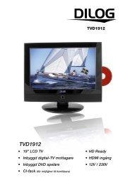 Produktblad TVD1912 vit.pdf - Dilog