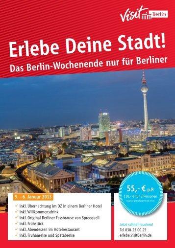 Erlebe Deine Stadt! – Eventnacht - Berlin
