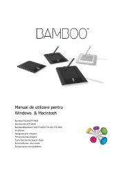 Manual de utilizare pentru Windows & Macintosh